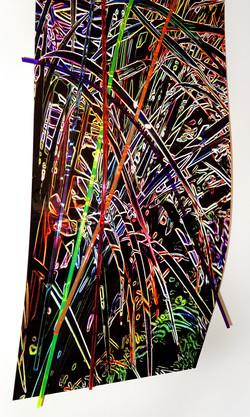 Neon Grass-Detail