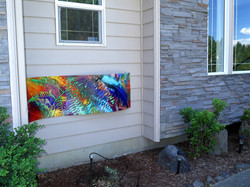 Home exterior installation