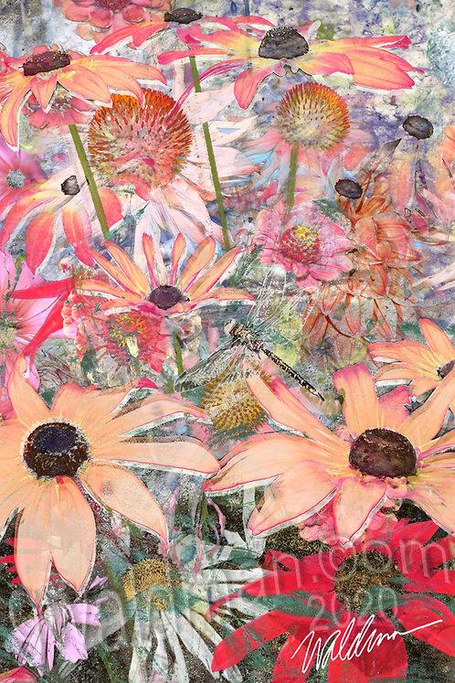 Summer's Promise II- 5x7 art card