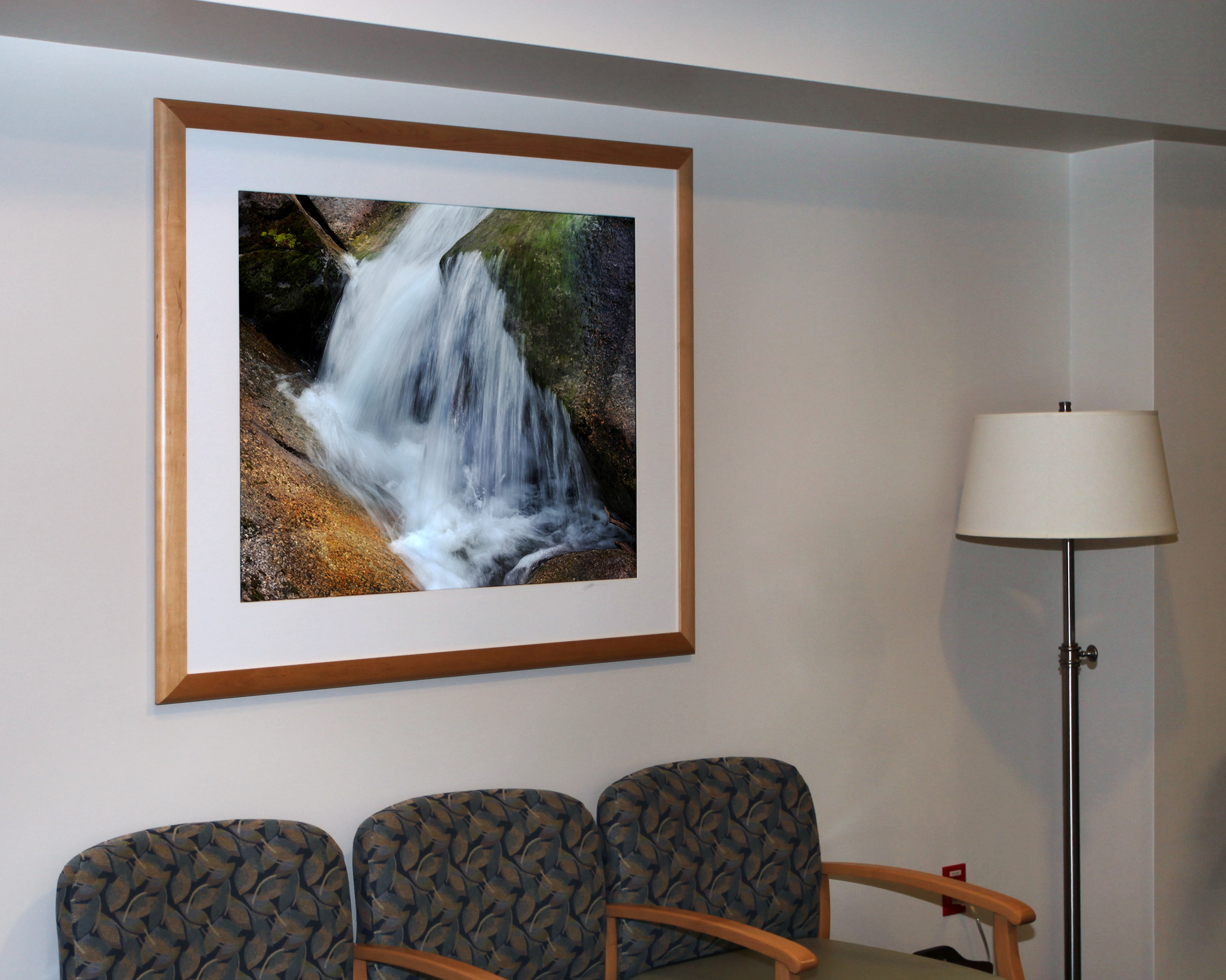 Women's Imaging Center waiting room