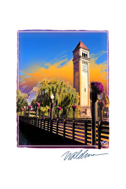 River Front Park Clocktower II