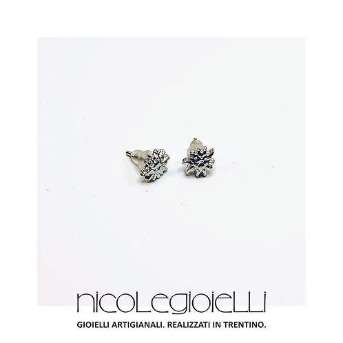 Orecchini edelweiss