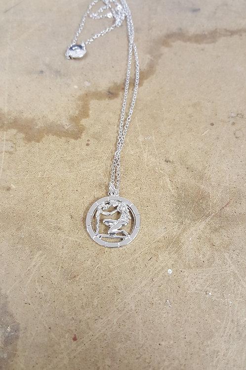 Collana segno zodiacale