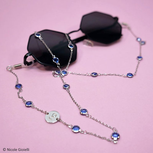 """Catenella per occhiali """"cristalli"""""""