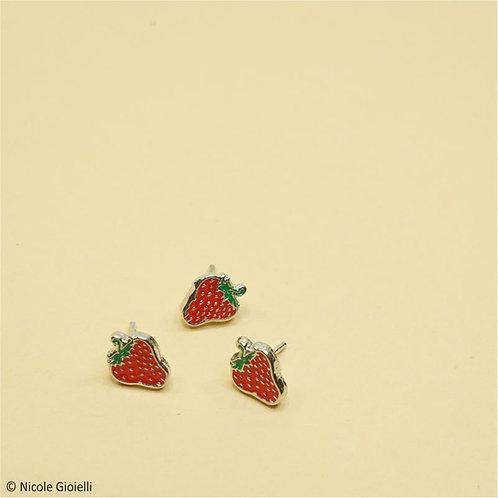 Orecchini fragolina