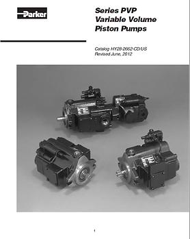 Series PVP Variable Volume Piston Pumps