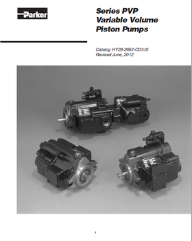 Series PVP Variable Volume Piston Pumps