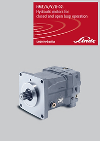 R-02 hydraulic motors for open and close