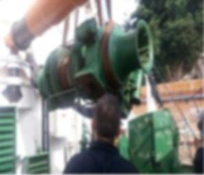 Guinchos e Guindastes - vena contracta - vessel - hidráulica - reparos navais