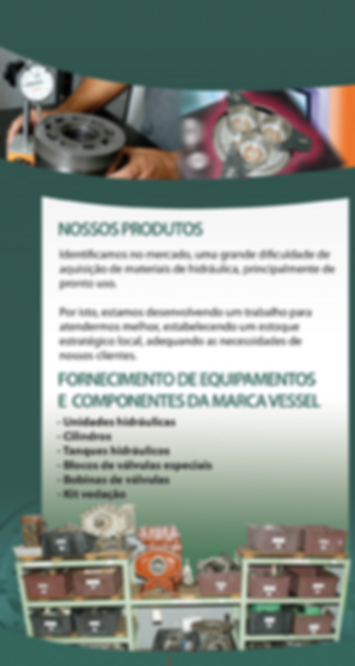 Unidades Hidraúlicas - cilíndros - Kit vedação - mercado naval e offshore - Vessel - Vena Contracta - Hidráulica - Reparos navais