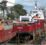 Docagem de navios polares da Marinha do Brasil