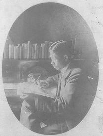 吉野作造肖像(欧州留学時代、吉野信宛葉書1910.09).jpg