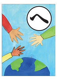 [へ]平和を願う世界の人と手を取り合おう国際協調★