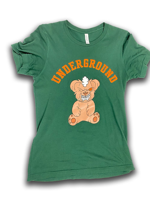 Raging Bear Tee (Olive)