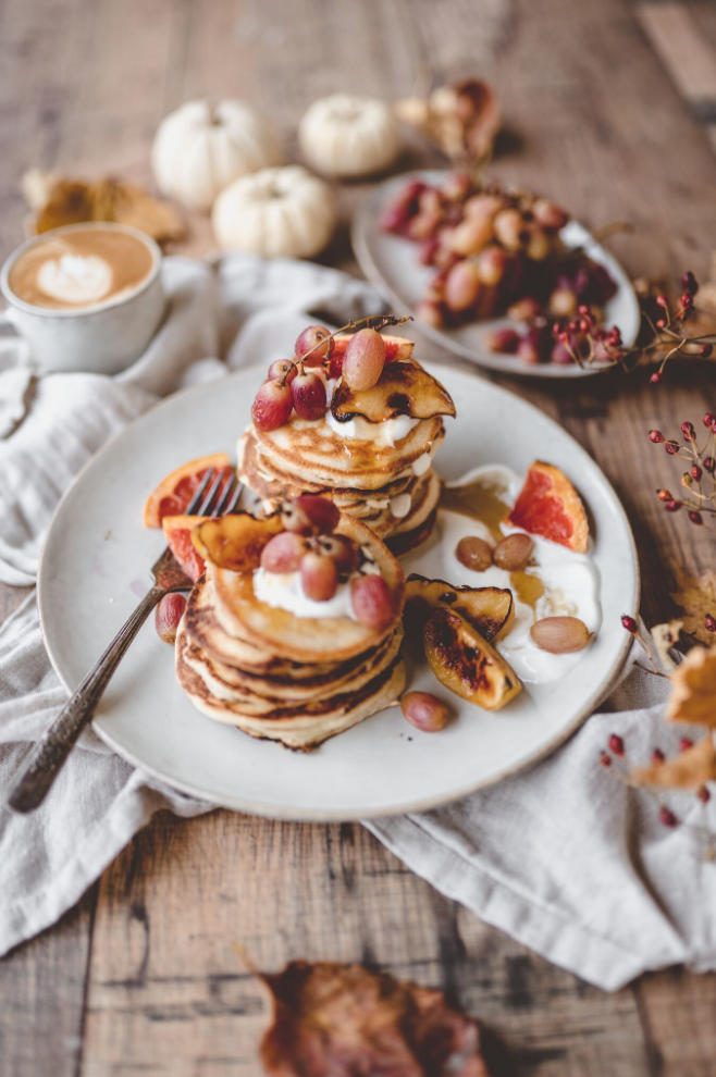 vegan pancakes, vegan breakfast, vegan eats