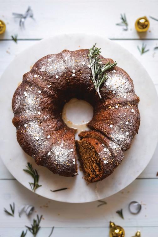 Holiday Spice Bundt Cake