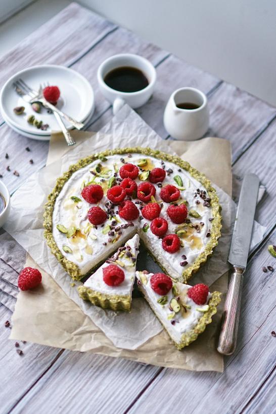 raw dessert recipe, vegan cheesecake, raw cheesecake