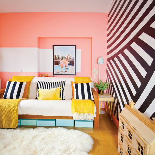 Colorful, Eclectic MAXIMALISM! Patterns, DIY + Renovations