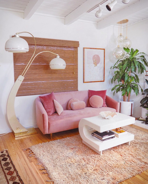 The Candy Colored Home + Mod Desert Sunset Boho Feels