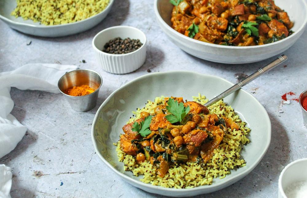 vegan curry, vegan recipes