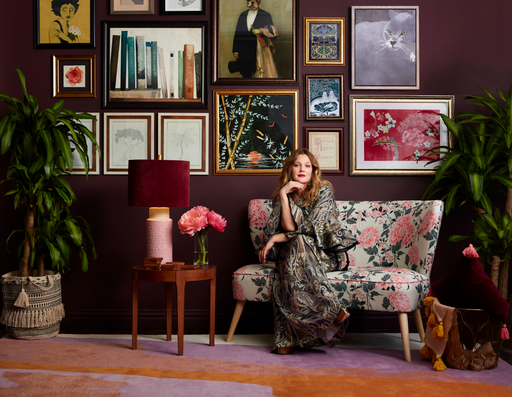Boho in Bloom with Drew Barrymore