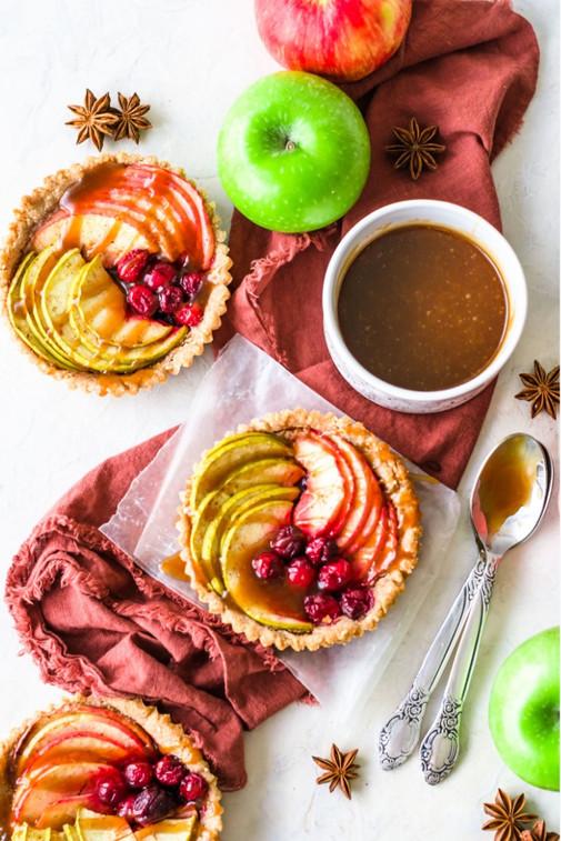 Cranberry Apple Tarts