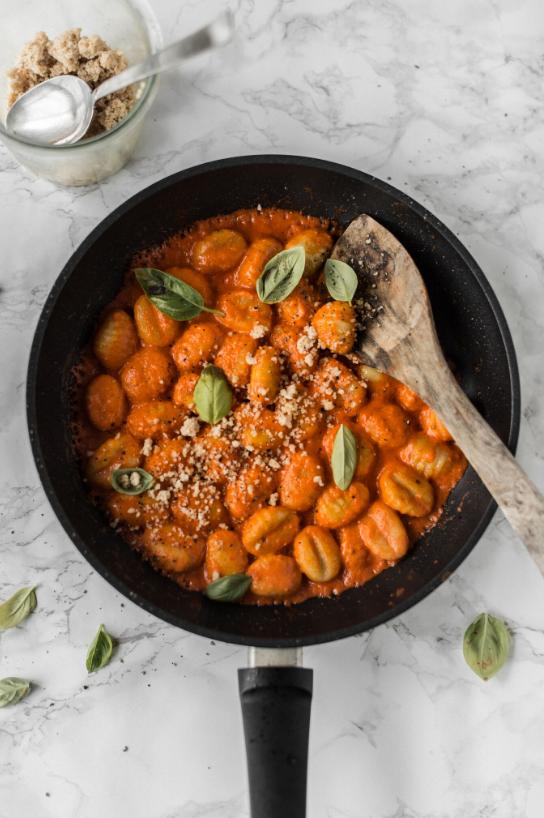 vegan gnocchi, vegan pasta, homemade pasta