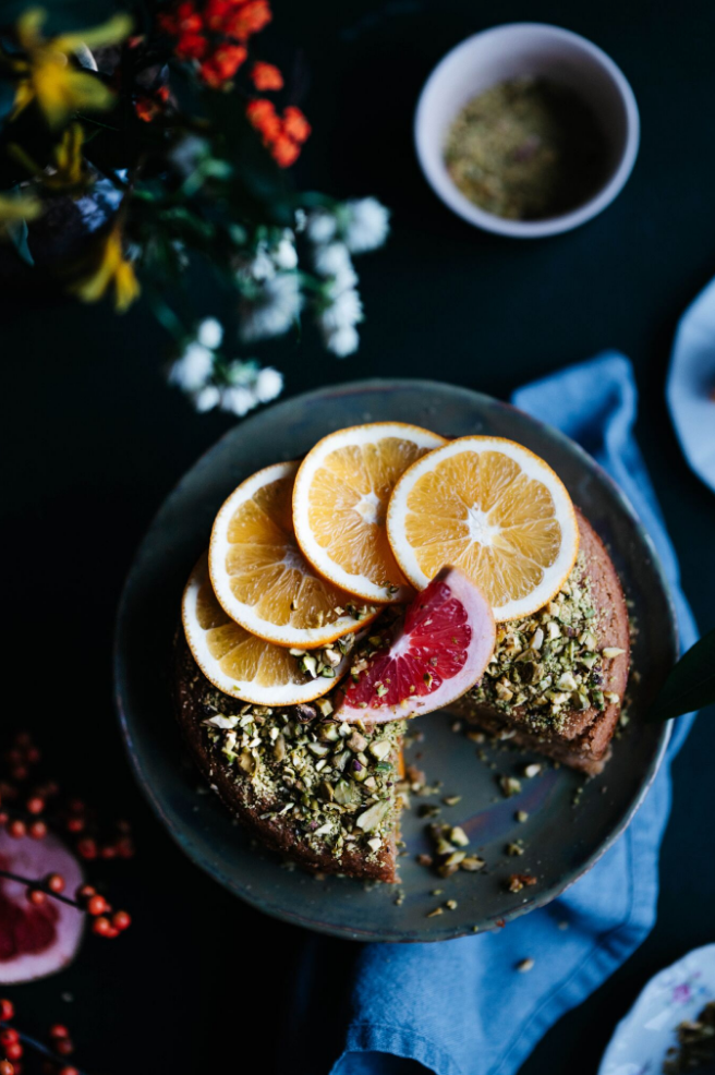 polenta cake, vegan cake, vegan cake recipe