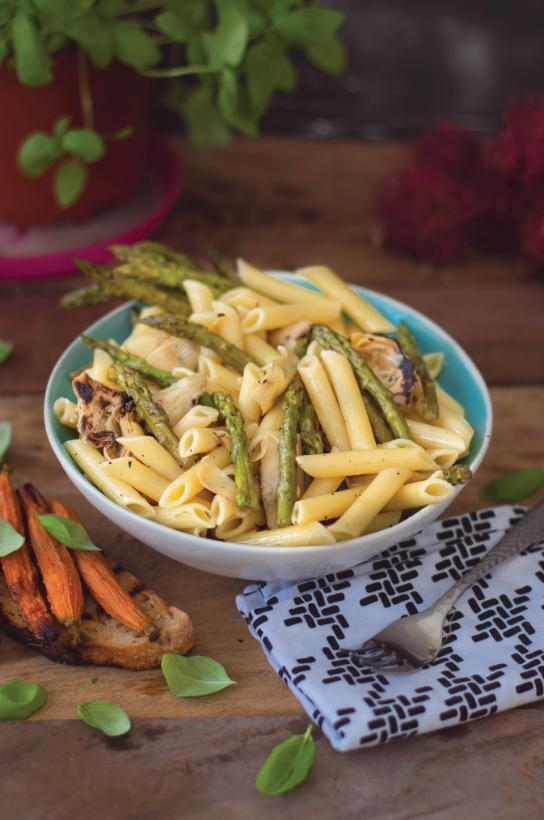 pasta, vegan recipe, easy meal, meal prep