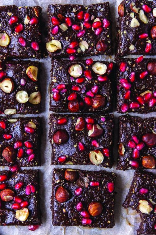 Raw Chocolate Brownies