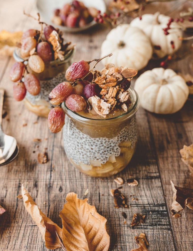 chia pudding recipe, chia seeds, vegan breakfast