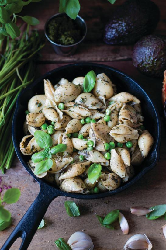pesto, pasta, vegan pesto recipe