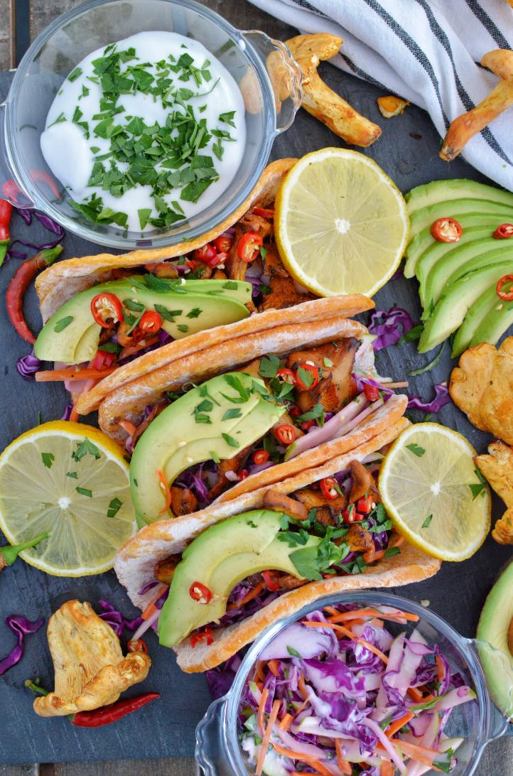 vegan tacos, sweet potato tacos