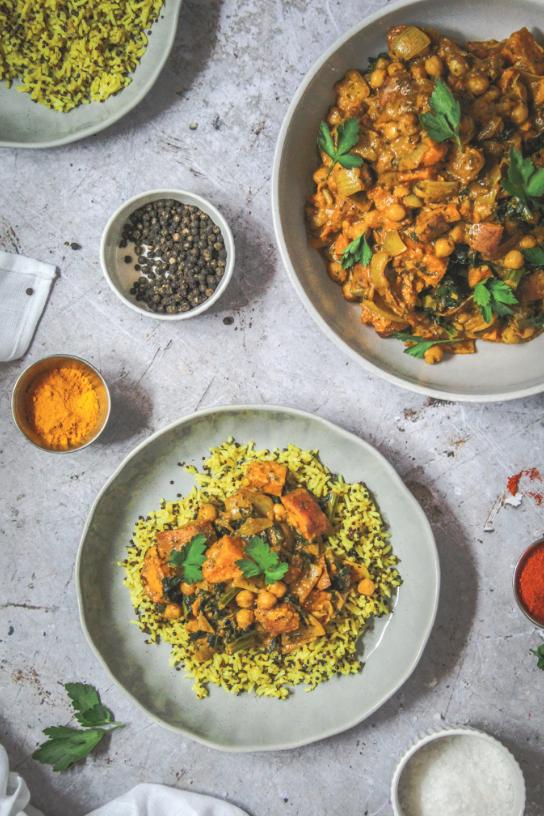 vegan food, veganism, coconut curry recipe