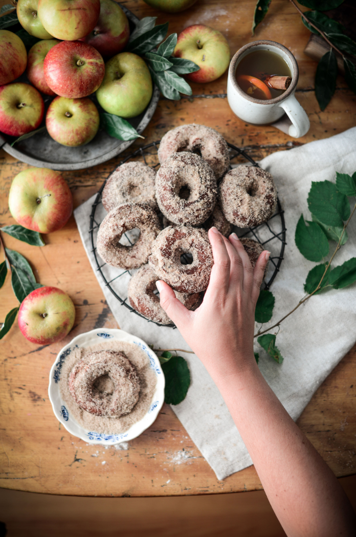 vegan dessert, vegan donut, vegan doughnut