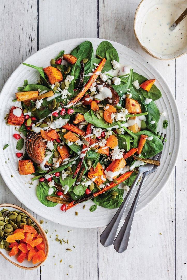 salad recipe, vegan recipe, vegan food magazine