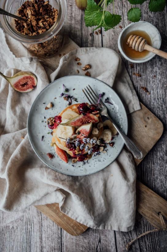 vegan pancakes, vegan pancake recipe