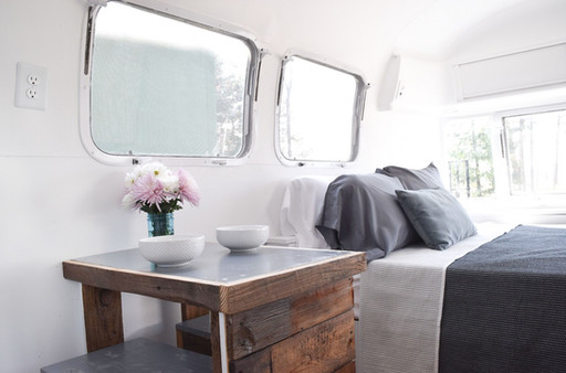 The Cozy Minimalist: Airstream and Small Home Living