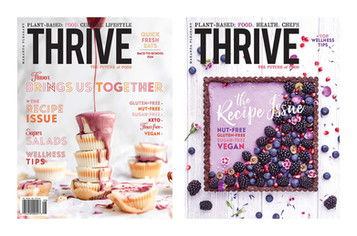 THRIVE Magazine Leads The Plant-based Movement