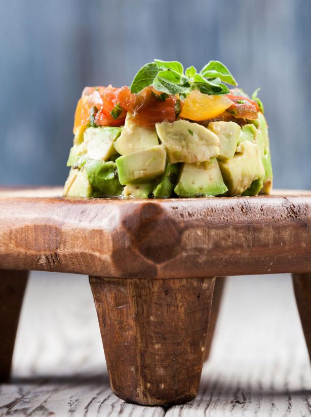 avocado tartare, vegan recipe, vegan food