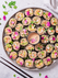 Quinoa Sushi with Miso Tahini Dressing