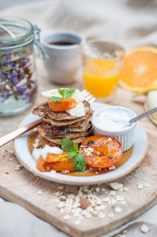 buckwheat pancakes, vegan pancakes, vegan breakfast