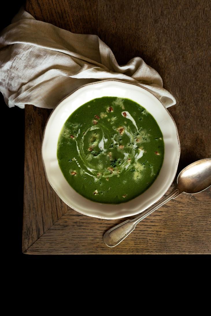 vegan soup, keto recipes, vegan recipes, spinach soup, veggie soup