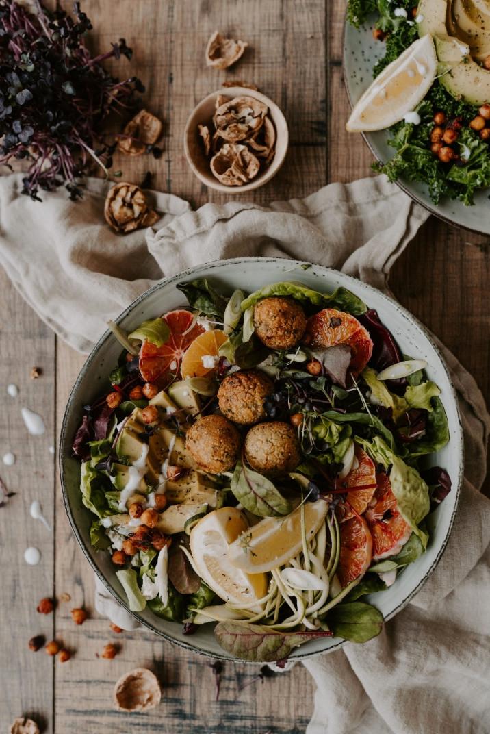 vegan falafel, falafel recipe, holiday recipes
