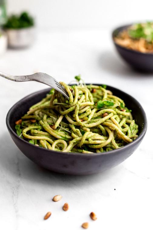 Creamy Basil Pasta