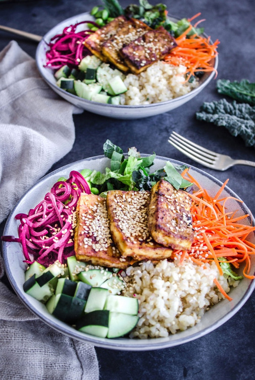Buddha Bowls with Tofu