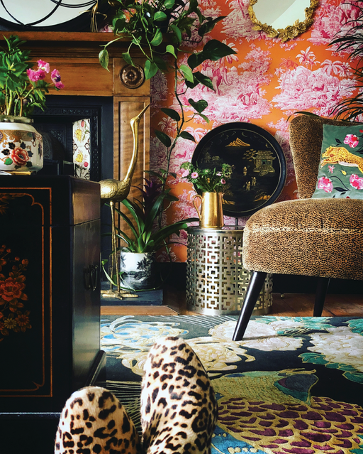 Eclectic Glamour, Color, Patterns, Layers and Texture