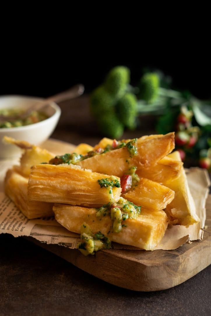 yuca fries, fried yuca, vegan fries, yuca fries, fries, yuca recipe