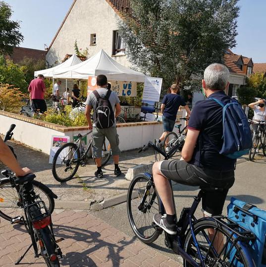 Atelier Vélo rue Moinot le 12 septembre 2020