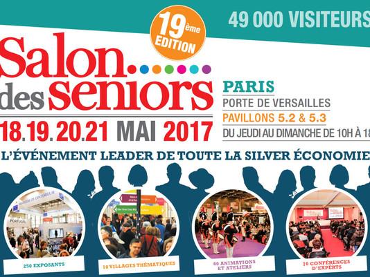 Invitations gratuites pour le Salon des Seniors 2017